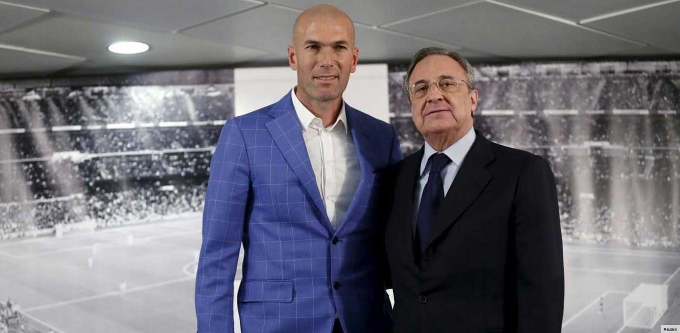 Zidane já disse a Florentino Pérez quem deve ser o novo galáctico