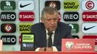 Fernando Santos: «Se o futebol fosse só duplas estávamos desgraçados»
