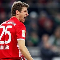Müller dá vitória ao Bayern Munique