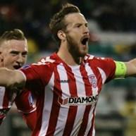 Futebolista irlandês Ryan McBride encontrado morto em casa