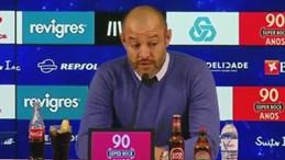 Nuno e o alegado antijogo: «Cada equipa adota a estratégia que considera melhor»