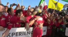 Ferrari vence na Austrália: assim se festeja o fim de 18 meses de 'jejum'