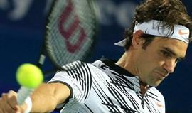 Federer cai na segunda ronda do torneio do Dubai