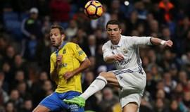 Cristiano Ronaldo salva Real Madrid em cima do apito