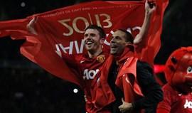 Manchester United homenageia Michael Carrick com jogo particular