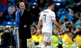 Zidane: «Logo vemos o que vamos fazer com Ronaldo»
