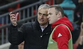 Mourinho conta a 100 por cento com Wayne Rooney no Manchester United