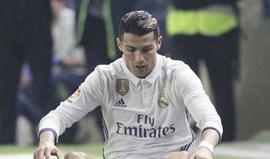 Cristiano Ronaldo falha jogo com o Eibar