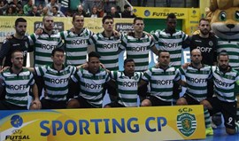 Sporting defronta detentores do título nas meias-finais da UEFA Futsal Cup