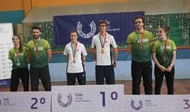 U. Porto e Académica de Coimbra vencem Nacional de ténis de mesa em pares