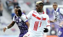 Assistência de Éder no empate (1-1) do Lille