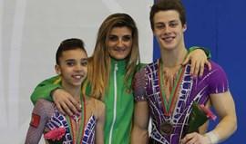Ginástica acrobática: Dupla portuguesa alcança bronzena Taça do Mundo da Maia