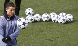 Ronaldo convocado para jogo com Nápoles numa lista sem Coentrão e Varane