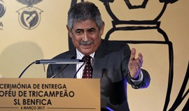 Luís Filipe Vieira: «Troféu do tricampeonato é bem-vindo mas já faz parte do passado»