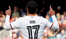 Nani prossegue recuperação no Valencia