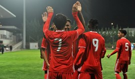 Os craques que brilham nos sub-19 do Benfica