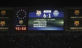 Ath. Bilbao goza com o Paris SG após eliminação francesa