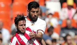Valencia cede empate frente ao Sp. Gijón