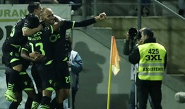 A crónica do Tondela-Sporting, 1-4: O pistoleiro implacável