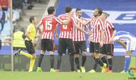 Athletic Bilbao quebra malapata em casa da Real Sociedad com vitória por 2-0