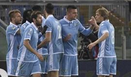 Dois golos perto do final garantem triunfo da Lazio sobre o Torino