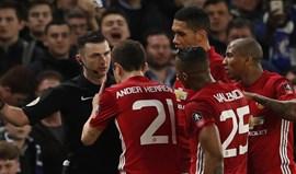 Federação inglesa acusa Manchester United de não controlar jogadores contra o Chelsea