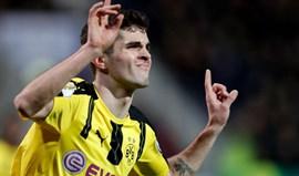 Borussia Dortmund marca encontro com o Bayern nas 'meias' da Taça