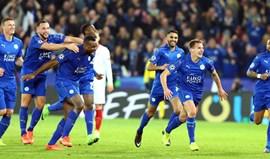 Leicester vira a eliminatória e está nos quartos-de-final