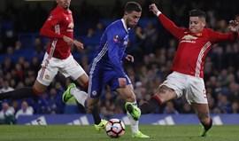 Bournemouth chocado por Marcos Rojo não ter sido suspenso após pisar Hazard