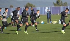 FC Porto 'reforçado' por cinco 'bês' na preparação para receção ao Setúbal