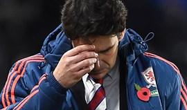 Aitor Karanka já não é treinador do Middlesbrough