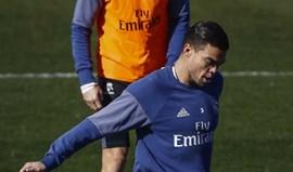 Pepe treina-se à margem e está em dúvida para Bilbau