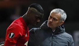 José Mourinho lamenta eliminação do... Manchester City