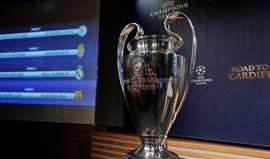 Bayern Munique-Real Madrid nos 'quartos' da Champions