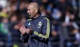 Zidane: «Vai ser um jogo soberbo para os adeptos»