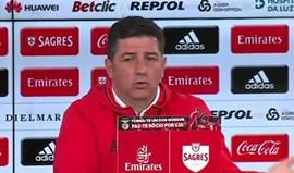Rui Vitória diz que não analisa nomeações... apenas factos pós-jogo