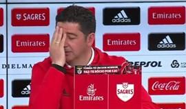 As declarações de Bruno de Carvalho que deixaram Rui Vitória a pensar