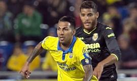 Villarreal perde em Las Palmas e arrisca acesso direto à Liga Europa