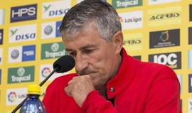 Quique Setien anuncia abandono do Las Palmas no final da temporada