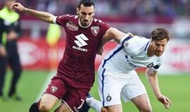 Inter empata na visita ao Torino