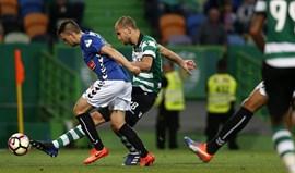 A crónica do Sporting-Nacional, 2-0: Bas(tou) o início da história