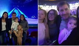 Bruno de Carvalho diverte-se em família