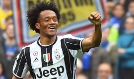 Juventus bate Sampdoria com assinatura de Cuadrado