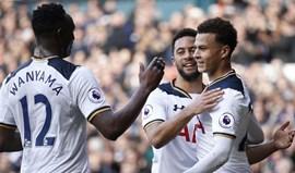 Triunfo caseiro do Tottenham frente ao Southampton segura 2.º lugar