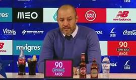 Nuno Espírito Santo: «Pressão é representar o FC Porto»