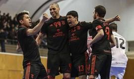 Benfica bate Burinhosa e reaproxima-se da liderança