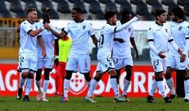 V. Guimarães B-Cova da Piedade, 1-0: Golo quase ao intervalo garante vitória