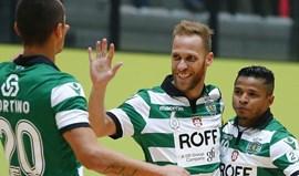 Sporting goleia Futsal Azeméis em jogo antecipado