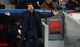 Simeone assume culpa pelo fraco rendimento de Gaitán