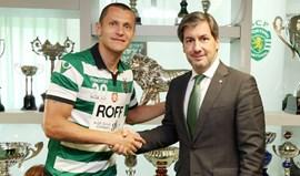 Rofolfo Fortino renova contrato com o Sporting
